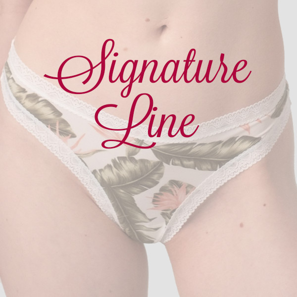 Signature Line - Thongs Only