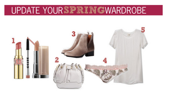 5 Items to Update Your Spring Wardrobe